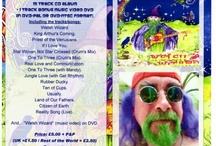 Flyers and posters / Publicity flyers and posters for music and gigs by Steve Andrews aka The Bard of Ely