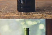 Wine bottle etiquettes