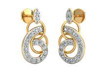 Shine dove earrings