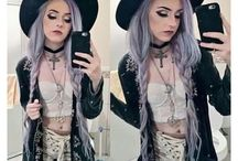 Pastel Goth Hair Inspirations