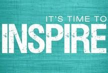 Inspiration / Need a pick-me-up? Take a look here and get inspired to fulfill your dreams!