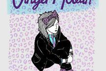 The Adventures of Ginger McLean / Novel for girls 10-14