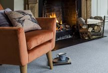 Best For Cosy Feel Interiors / Nothing beats a roaring fire and the feel of a deliciously soft, inviting interior in the depths of winter. Opt for a luxurious, snuggly deep pile carpet that will provide warmth underfoot – perfect for when you're coming in from a dark or frosty night. If you dare to be bold, experiment with a textured carpet that can make the floor a real feature. For more inspiration, visit www.cormarcarpet.co.uk and browse the full collection.