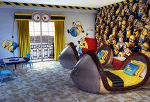 chambre minions