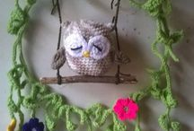 Crochet and knit decoration