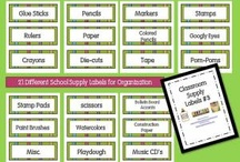 Classroom Organization  / by Aly Bellamy