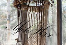 macrame haning chair