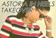 Astoria In Heels Takeover