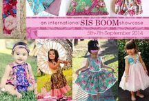 Sis Boom Collective ❤️  ❤️ / International Vendors showcase of items using Jennifer Paganelli's stunning fabrics