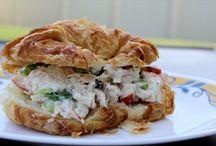 Chicken salad sandwiches(healthy) / Sandwiches