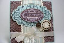 Stampin up layered labels
