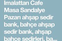 Cafe ahşap sedir fiyatları