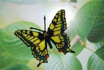 Bead butterfly - farfalle di perline