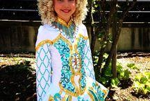 Irish dance dresses