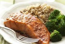 Salmon / salmon dishes