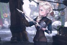 Frozen/Disney art