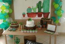 Festa tema cactus