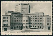 Warszawa pocztówki do 1939