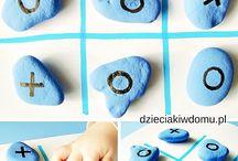 Rock crafts / zabawy kamieniami / Rock crafts and activities for kids / pomysły na prace i zabawy z kamieni dla dzieci