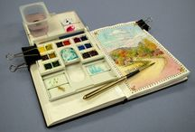 Travel sketch kit