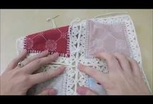 quilt with crochet