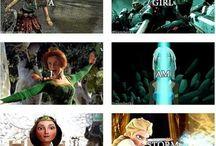 Movie company crossovers
