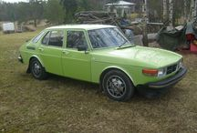 Saab 99 combi coupe opal green 1976