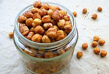oven roasted chick peas / chick peas