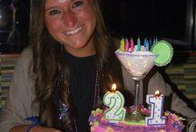 21st birthday ideas / by Abbey Coyle