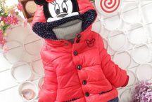 Minnie girls winter jacket / Minnie girls winter jacket