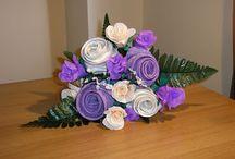 Bouquet / Bouquet realizzati a mano, da sposa, da lancio, addio al nubilato, damigelle