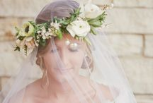 Flower crowns and jewelry-Shelly Sarver Designs / flowers for hair including clips and flower crown as well as floral jewelry.