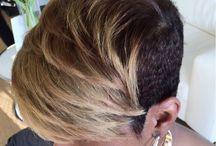 Elegant short hair