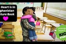 My Heart is In Afghanistan Picture Book
