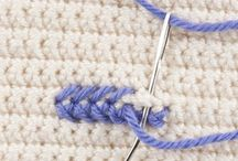 Stitching in Crochet