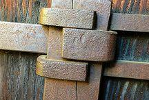 imbinari lemn/fier