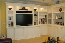 Wall Units/Storage / by Cindy Skeber