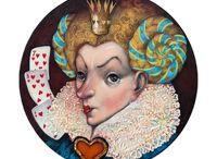 Alice in W:art/Vladimir Ovctharov / Alice in wonderland (illustrator)
