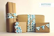 Gift Wrap Ideas / How to make a pretty present! / by Beth Phillips