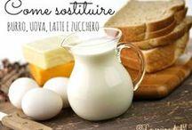 sostituire latte burro eyc