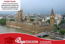 Study in UK-Riya Education Pvt Ltd