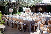 INSPIRATION - OUTDOOR WEDDING RECEPTIONS / OUTDOOR WEDDINGS