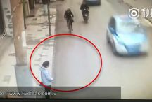 Viral Video - VIDEO - Woman With Knife Hacks Riders In Head