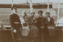 Sesión  imperial marinera a bordo