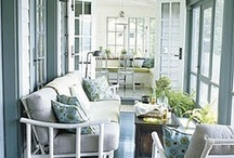 enclosed porch ideas / by Amy Riley
