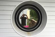 Fenêtres de forme / Réalisation par Lorraine Cintrage Services
