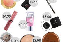 дешевый макияж