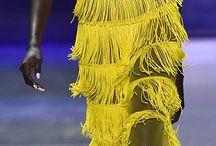 yellow tassels