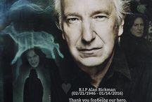 Severus Snape/ Alan Rickman