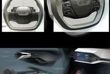 Interior car design